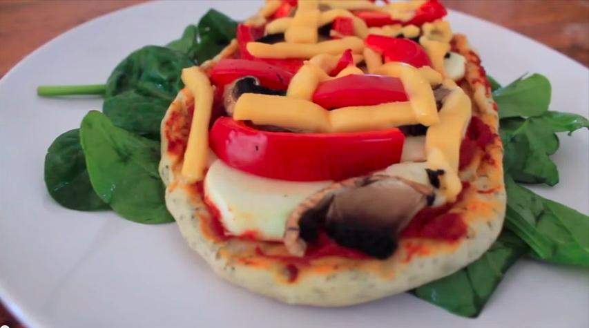 pizza vegan maison