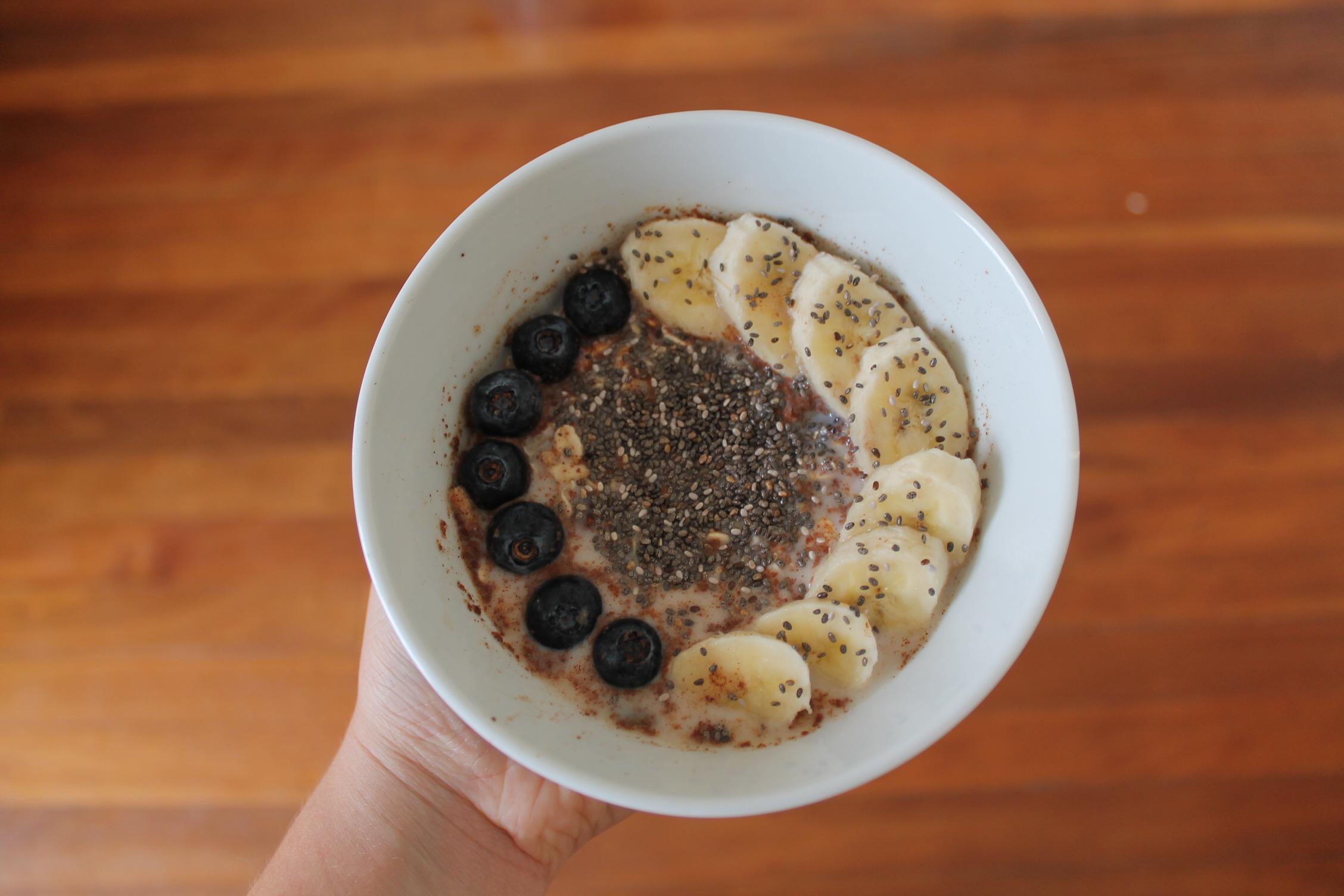 porridge recette toppings oatmeal recipe