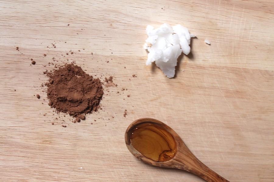 recette de chocolat fondu healthy vegan ingrédients