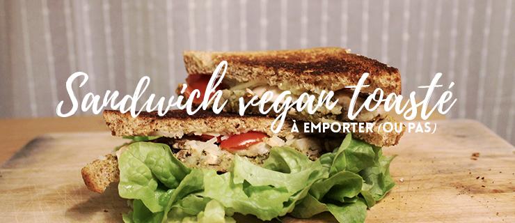 sandwich vegan toasté couverture