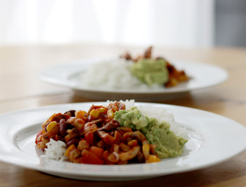 burrito bowl recette veggie mexicain slv