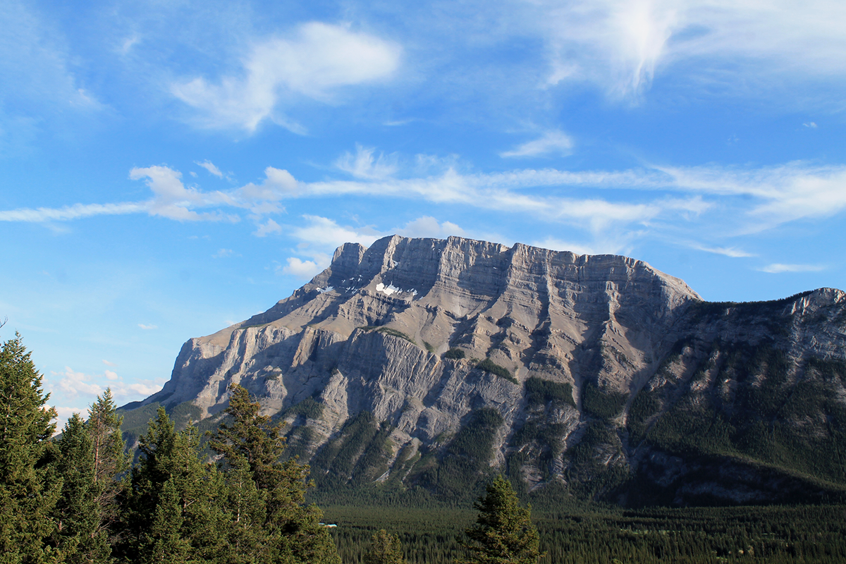 mont rundle banff national park canada