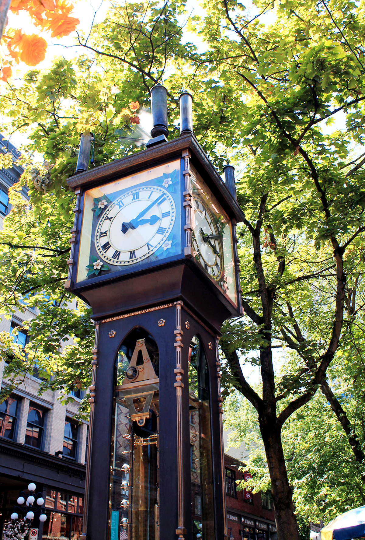 steam clock vancouver gastown