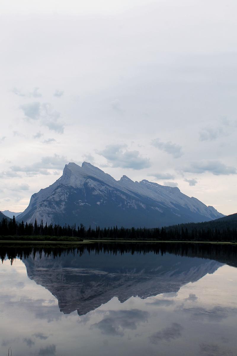 vermillion lake canada banff national park